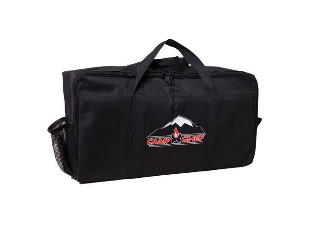 Camp Chef Mountain Series Gas Grill Flat-Top Stove & Propane Bottle Carry Bag photo
