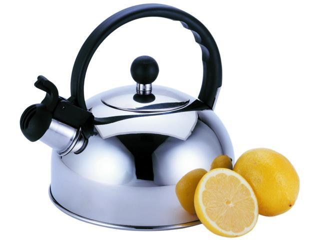 Primula 2.5 Qt Liberty Whistling Tea Kettle - 2.5 quart Kettle, Lid - Steel, Phenolic Handle photo