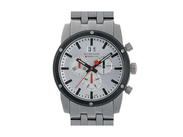 Mondaine Official Swiss Railway Men's Chronograph Watch A690.30338.11SBM