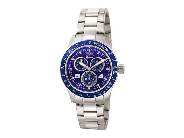 Invicta 7306 Signature II Collection Stainless Steel Multifunction Tachymeter Watch