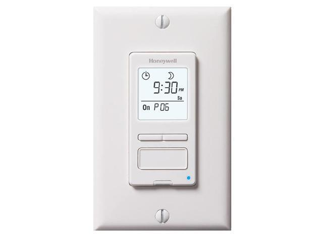 Honeywell RPLS540A1002/U Econoswitch 7-Day/Solar Programmable Lighting Timer - W