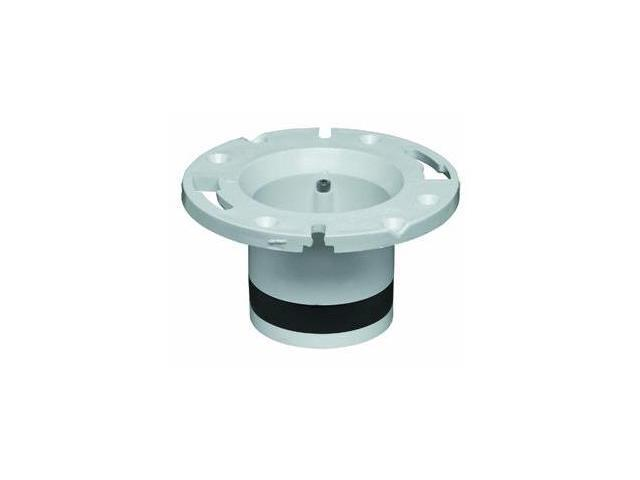 Oatey 43539 Plastic Replacement For Cast-Iron Closet Flanges