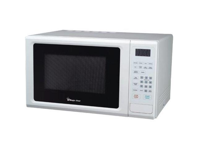 MAGIC MCM1110W 1.1 Cu Ft Countertop Microwave1000 Watt with Digital Touch, White photo