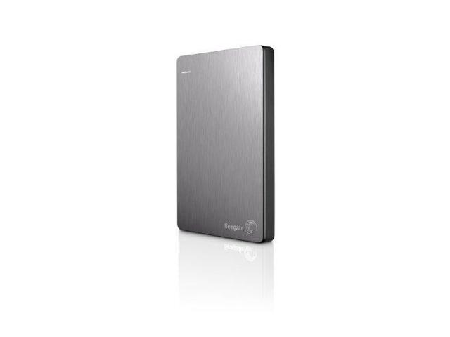 Seagate Technology STDR2000101G Seagate Backup Plus Slim 2TB Portable External Hard Drive with Mobile Device Backup USB 3.0 (Silver) STDR2000101