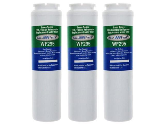 Replacement Water Filter Compatible with KitchenAid KFIS20XVMS Refrigerator Water Filter by Aqua Fresh (3 Pack) photo