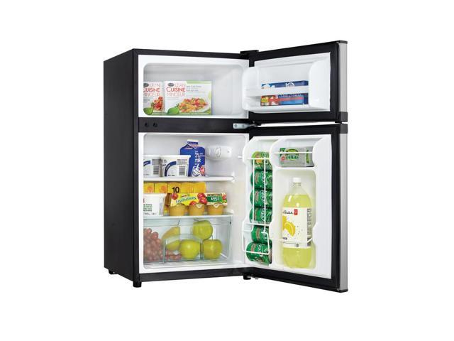Danby 3.1 Cu. Ft. Stainless Two Door Compact Refrigerator photo