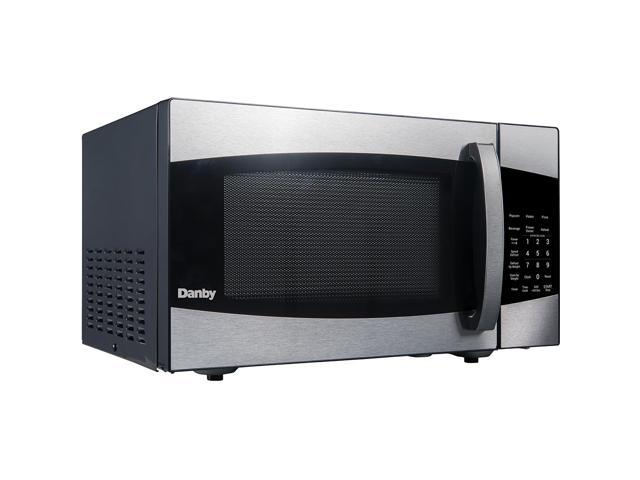 Danby 0.9 Cu. Ft. Stainless Countertop Microwave Oven photo