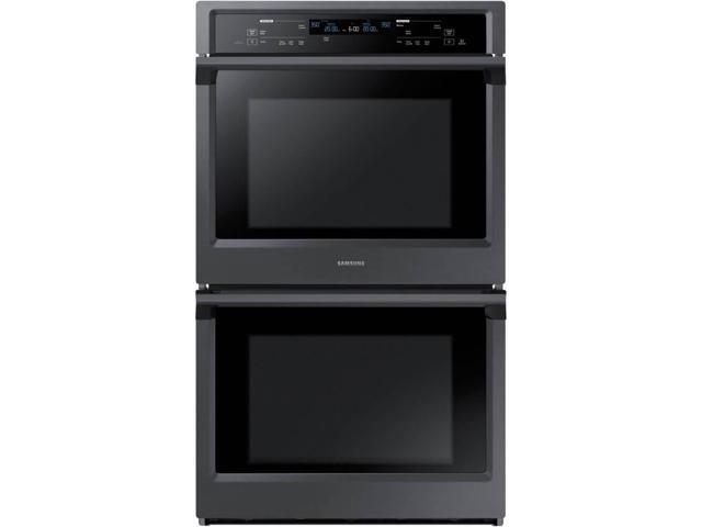 Samsung NV51K6650DG 29 Black Stainless Double Convection Wall Oven NV51K6650DG/AA photo