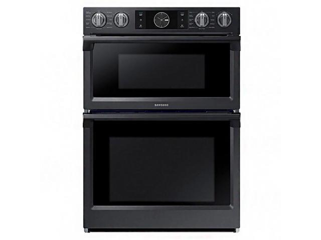 Samsung NQ70M7770DG 7.0 Cu. Ft. Flex Duo Combination Black Stainless Electric Wall Oven NQ70M7770DG/AA photo