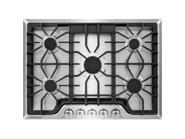 Frigidaire Gallery FGGC3047QS 30 Stainless 5 Burner Gas Cooktop photo