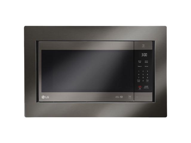 LG LMC2075BD 2.0 cu. ft. NeoChef Countertop Microwave with Smart Inverter and EasyClean, Black photo
