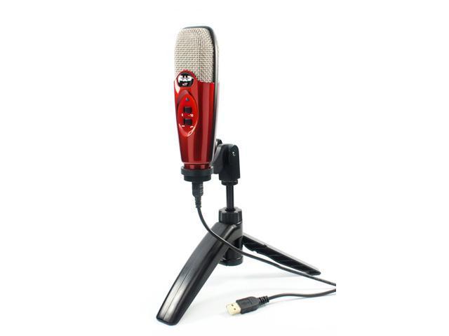 cad u37 usb microphone studio condenser recording microphone studio vocals speech instruments. Black Bedroom Furniture Sets. Home Design Ideas