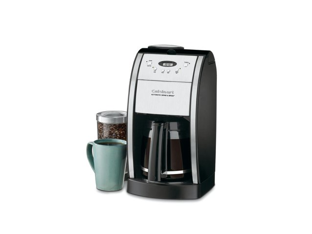 Cuisinart DGB-550BK Black Grind and Brew 12-Cup Automatic Coffee Maker photo