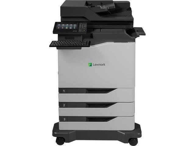 Cx820dtfe 42kt077 duplex 1200 x 1200 dpi usb color laser mfp printer
