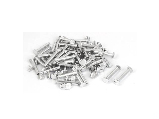 Purse Belts Photo Albums Aluminum Binding Chicago Screws Posts M5 x 33mm 50 Pcs (602451822004 Hardware Hardware Accessories) photo