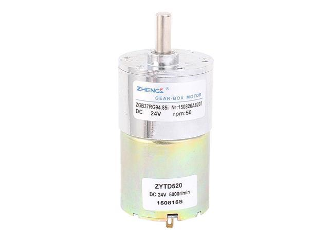 DC 24V 50RPM Output Speed Cylinder Shaped Geared Motor for Oven photo