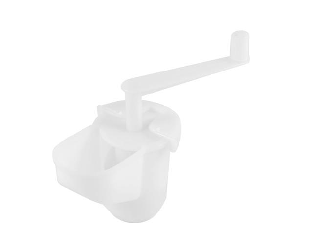 White Plastic Housing Manual Food Meat Grinder Chopper Mince Mincer Head photo