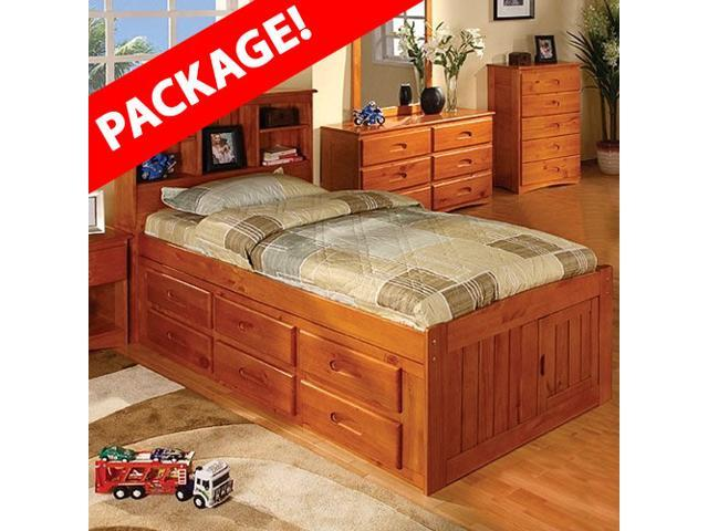 captains bed twin