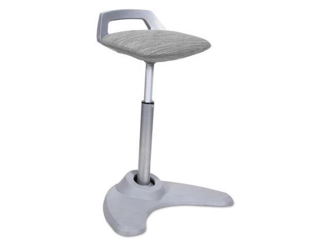 Alera Ae36psgr Sit To Stand Perch Stool Gray With