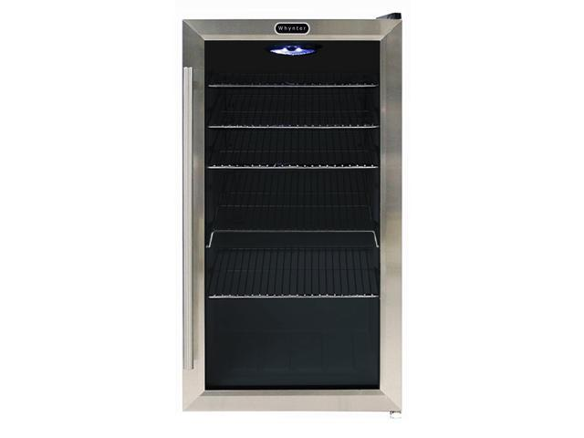 Whynter Beverage Refrigerator with Internal Fan - Stainless Steel 120 Can Capacity photo