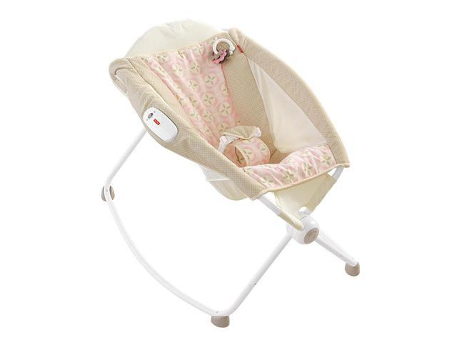 Fisher Price Newborn Rock N Play Sleeper Pink Lattice Zcl