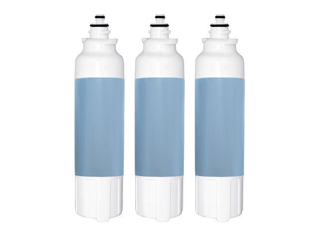 Replacement Water Filter Compatible with LG LSXS26326S Refrigerator Water Filter (3 Pack) photo