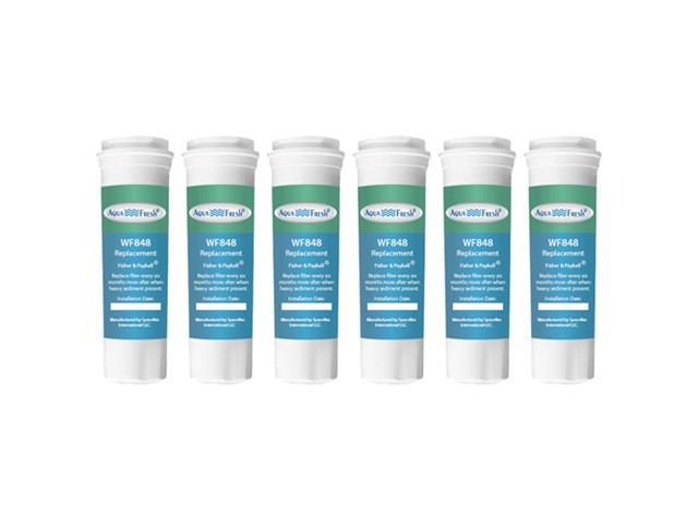 Replacement Water Filter Compatible with Fisher & Paykel RF522ADUSX5 Refrigerator Water Filter by Aqua Fresh (6 Pack) photo