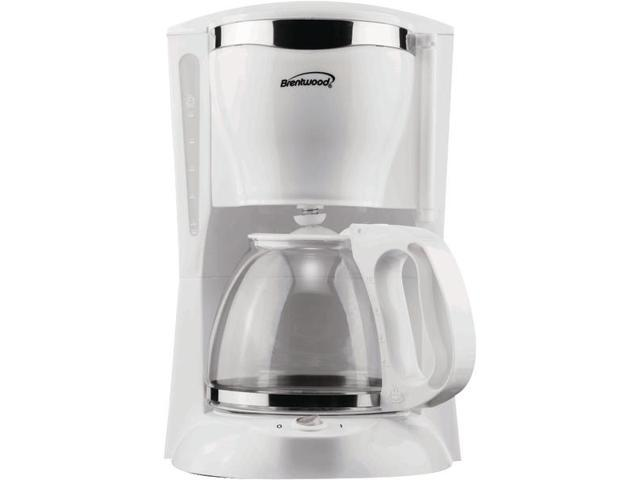Brentwood Appliances TS-216 12-Cup Coffee Maker (White) photo
