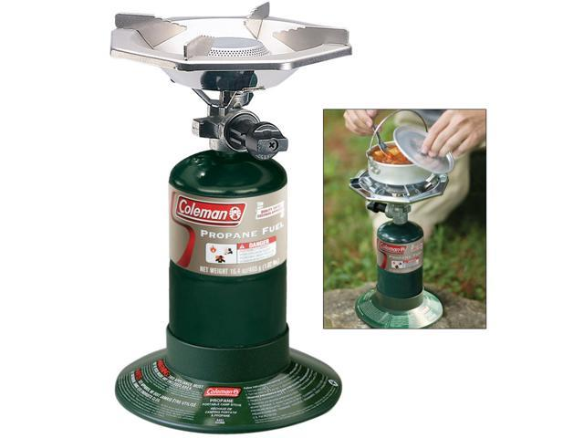 COLEMAN PERFECTFLOW SINGLE BURNER PROPANE STOVE photo