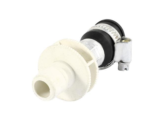 Unique Bargains Replace Faucet Water Tap Adapter White Black for Washing Machine Washer photo