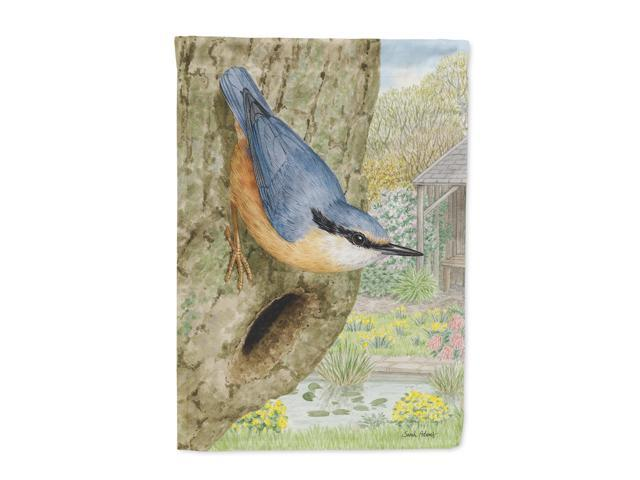 Red-breasted Nuthatch Flag Garden Size ASA2108GF (638508086259 Home & Garden Decor Flags & Windsocks) photo