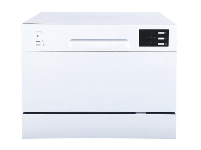 Countertop Dishwasher with Delay Start & LED - White photo