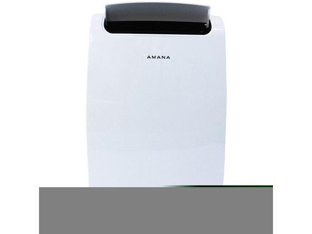 Amana 7,000 BTU Portable Air Conditioner with Remote Control, White AMAP081AW photo