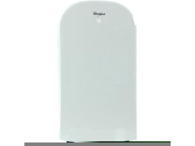 Whirlpool 14,000 BTU Dual-Exhaust Portable Air Conditioner with Remote Control in White photo