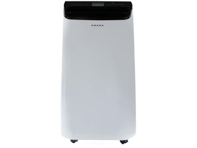 Amana 10,000 BTU Portable Air Conditioner with Remote Control in White/Black photo