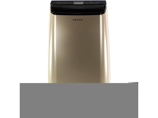 Amana 10,000 BTU Portable Air Conditioner with Remote Control in Gold/Black photo