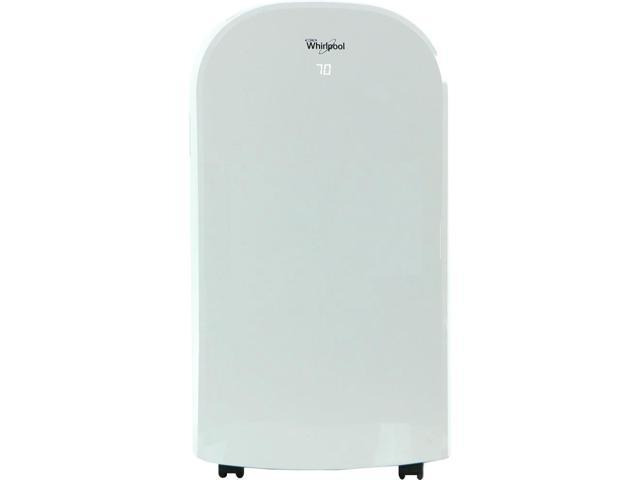 Whirlpool 12,000 BTU Dual-Exhaust Portable Air Conditioner with Remote Control in White photo