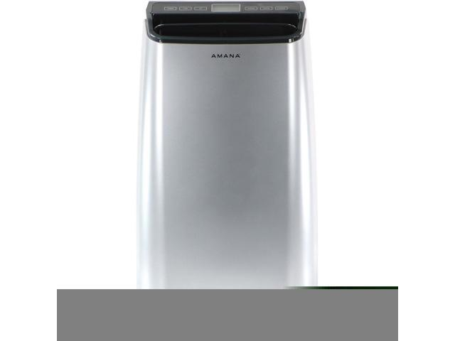 Amana 12,000 BTU Portable Air Conditioner with Remote Control in Silver/Gray photo
