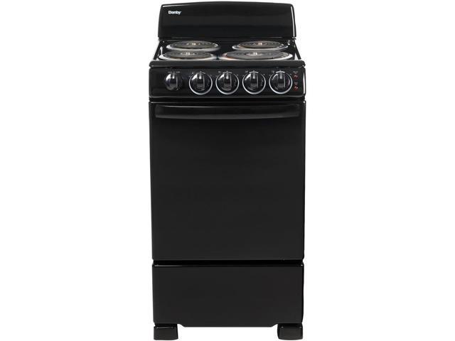 20-In. Electric Range with Coil Elements and 2.3-Cu. Ft. Oven Capacity in Black photo