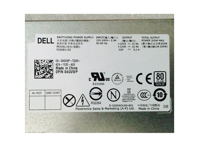 NeweggBusiness - Dell Optiplex 9010 9020 USFF PSU 200W Power Supply