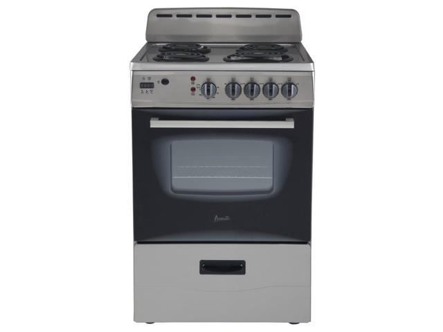 Avanti ER24P3SG 24' Electric Range Storage, Stainless Steel photo