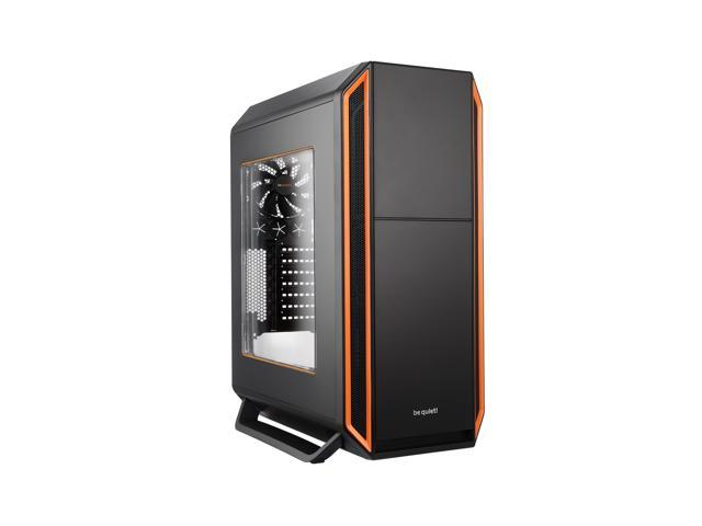 be quiet! SILENT BASE 800 ATX Full Tower Computer Case - Orange