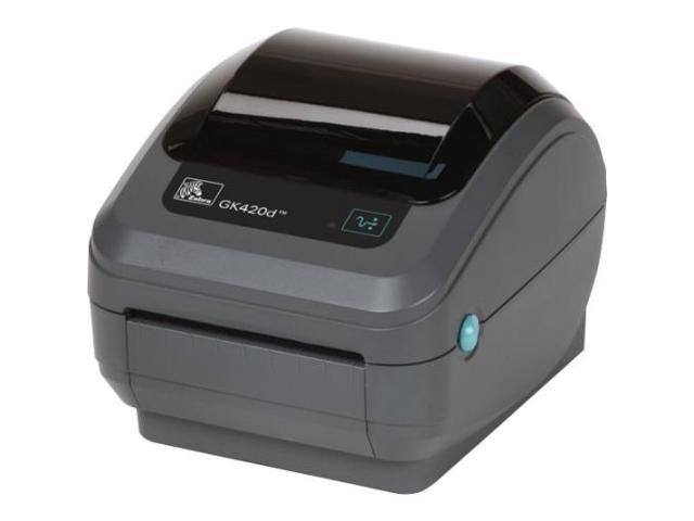 Zebra GK420d Direct Thermal Printer - Monochrome - Desktop ...