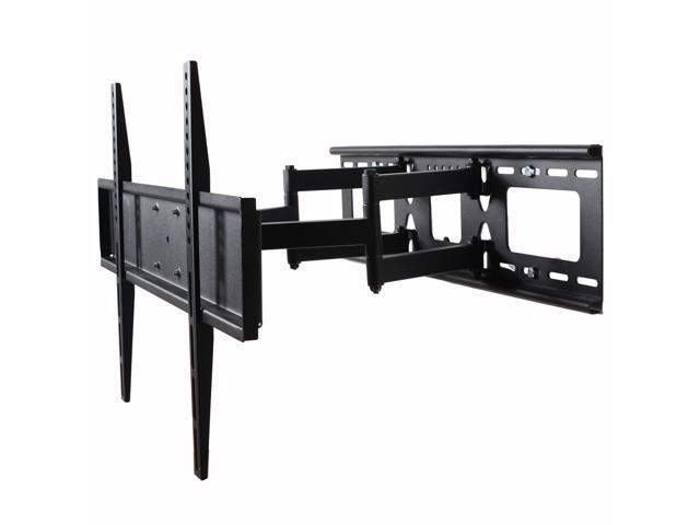 VideoSecu Dual Arm TV Wall Mount for Samsung 32-60' LED LCD HDTV UHD Plasma Flat Panel Screens, Tilt Swivel TV Mount with VESA 600x400mm Articulating photo