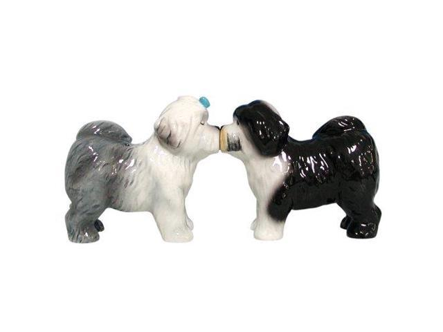 Salt & Pepper Shakers - Mwah - Old English Sheepdogs New Licensed 93454 photo