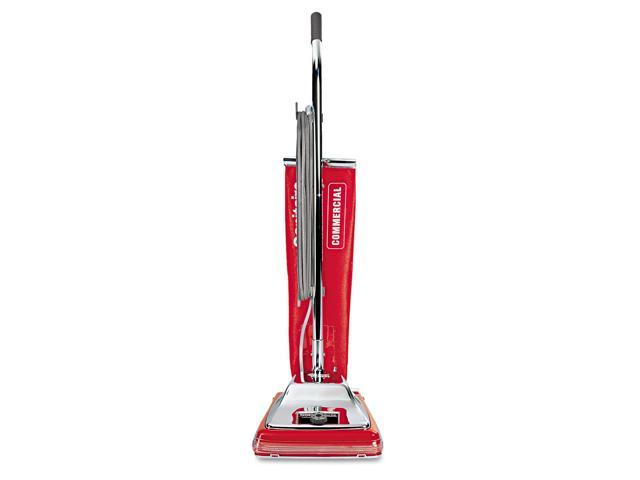 Electrolux Sanitaire SC886E Quick Kleen Commercial Vacuum w/Vibra-Groomer II- 17.5 lbs- Red photo