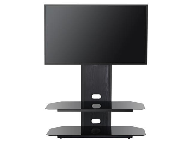 Neweggbusiness Fitueyes Floor Swivel Tv Stand With Mount For 42 70