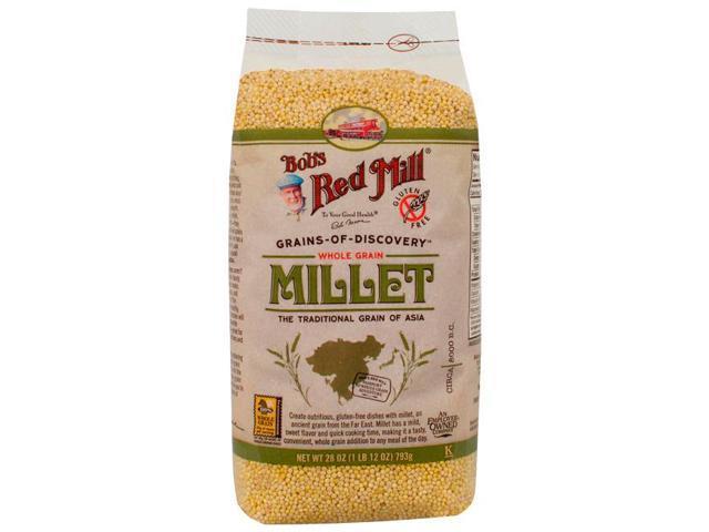 Bob's Red Mill Whole Grain Millet 28 oz (793 grams) Pkg photo