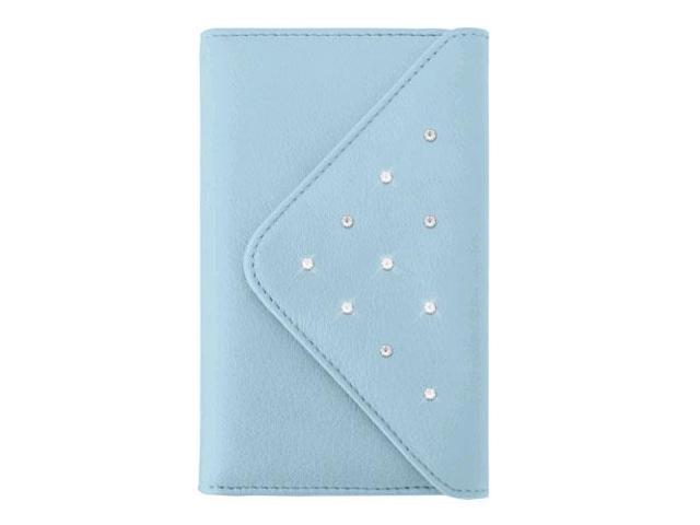 White Diamonds Grand Purse Case for Apple iPhone 6/6s Plus, 7 Plus, 8 Plus - Light Blue (818300017792 Electronics Communications Telephony Mobile Phones) photo