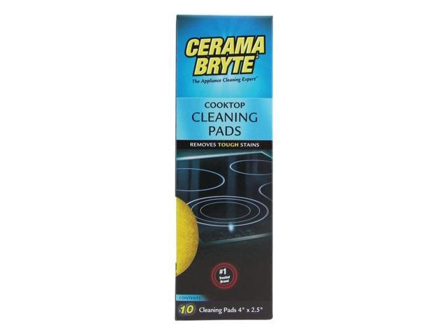 Cerama Bryte 29106 Ceramic Cooktop Cleaning Pads, 10 pk photo